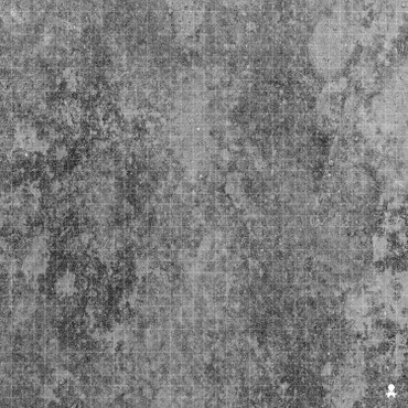 "Kraken Dice RPG Encounter Map Quick Mat- Abandoned Concrete 36""x36"""