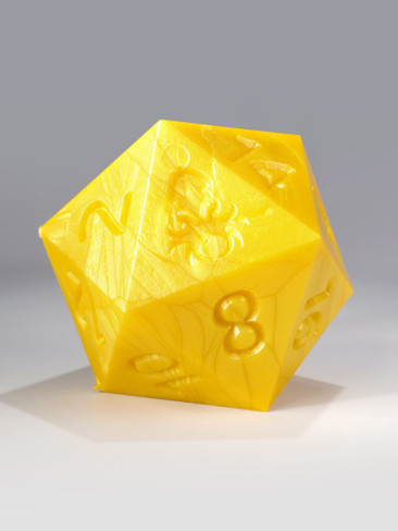 RAW 55mm Yellow D20
