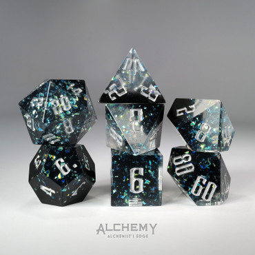 7pc Alchemist's Edge Dark Portal by Alchemy Dice