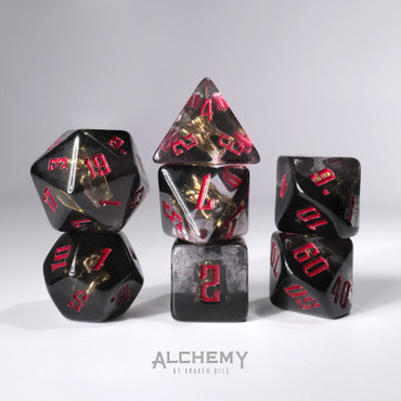 7pc Hidden Dragon Spirit with red ink by Alchemy