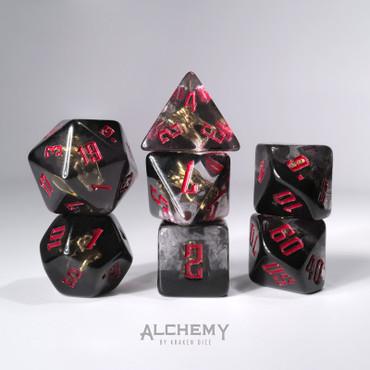 7pc Hidden Dragon Spirit with red ink by Alchemy