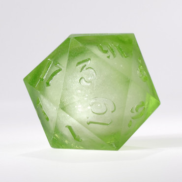 RAW Light Green Liquid Core Single D20