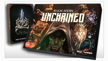 Kraken Dice presents Magic Items Unchained by MapHammer
