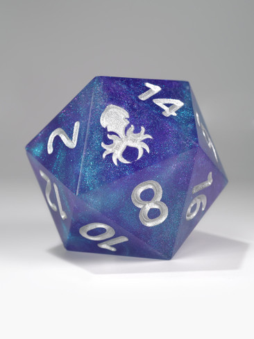 Blueberry Rock Candy Hand Polished Sharp Edge 55mm D20