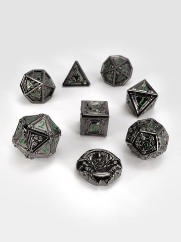 Geometric Horrors: Monstrous Eyes TTRPG Dice Set