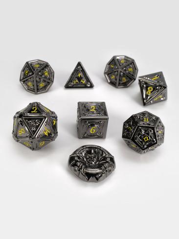 Geometric Horrors: Demon's Eye TTRPG Dice Set