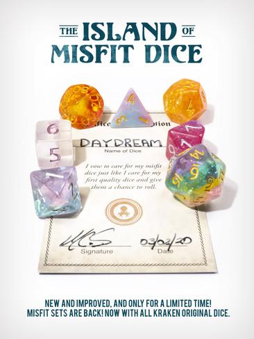 The Island of Misfit Dice