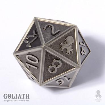 Steel Goliath single 40mm D20