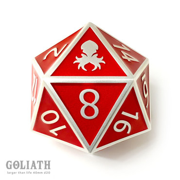 Dark Prince Goliath single D20