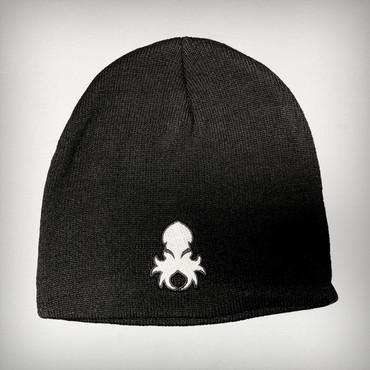 FRONT: Kraken Logo Black Beanie