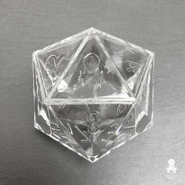 4 pack Kraken Logo D20 Dice Display