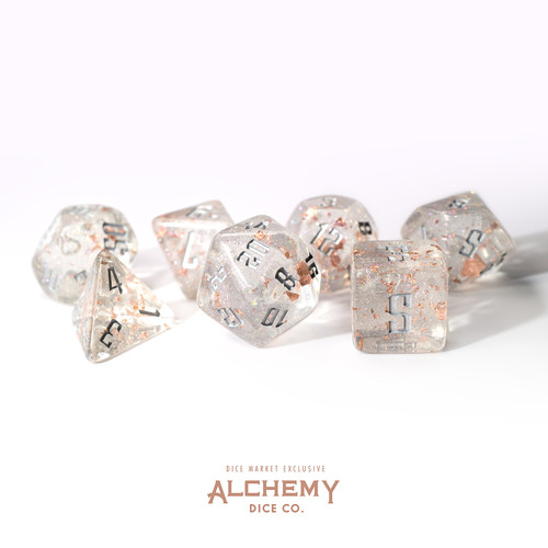Fragments of the Sun with Silver Ink by Alchemy Dice