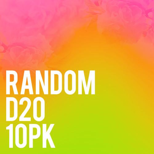 Random  d20 10pk