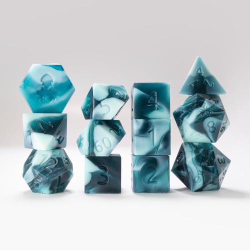 RAW 12pc Gummi Shark Polyhedral Dice Set