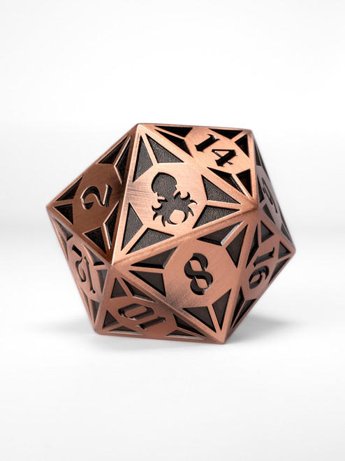 Fullmetal Gothik Copper Goliath single D20