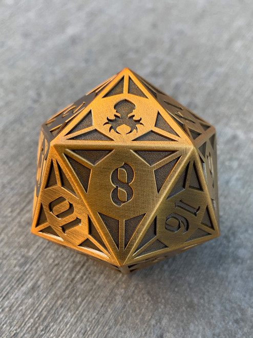 Fullmetal Gothik Brass Goliath single D20