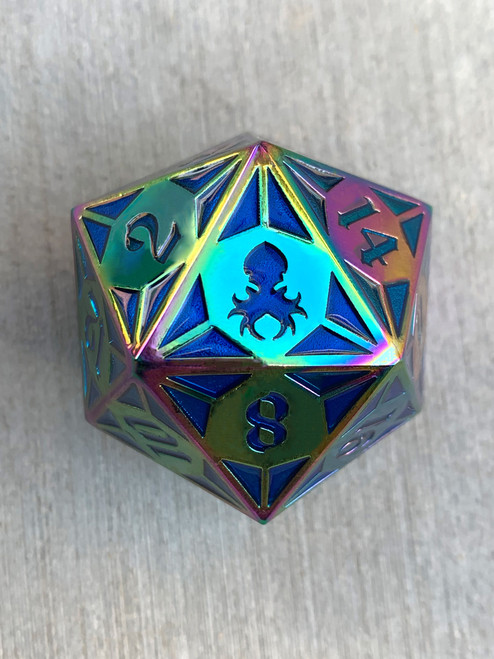Fullmetal Gothik Frozen Flame Goliath single D20