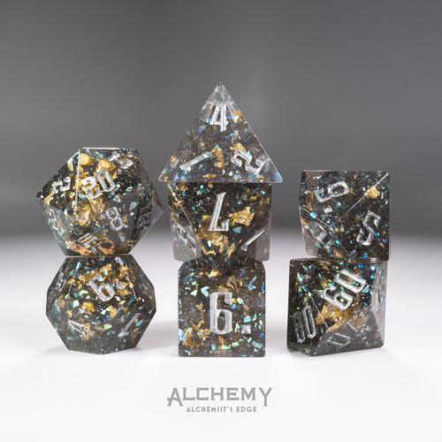 7pc Alchemist's Edge Multiverse by Alchemy Dice