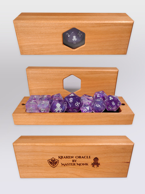 Kraken's Oracle Cherry Dice Vault by Master Monk
