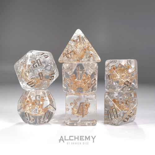 7pc Moonlit Crown with Silver Ink by Alchemy Dice