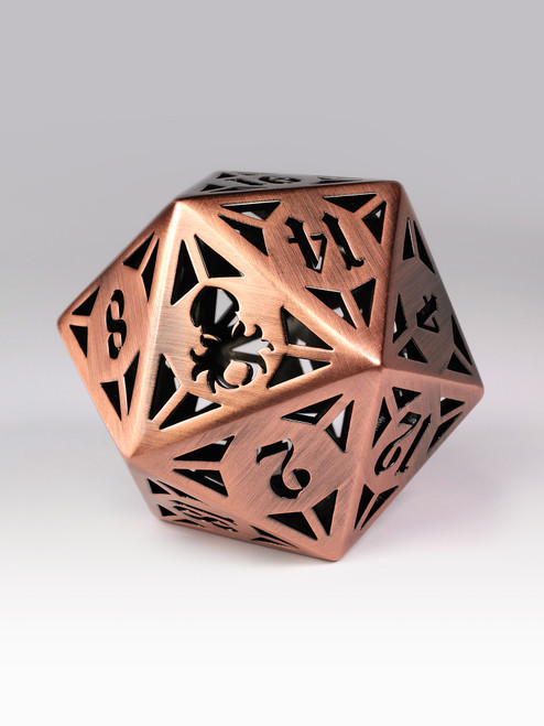 Archon: Copper 60mm Hollow D20