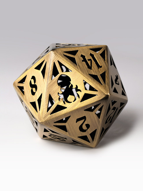 Archon: Bronze 60mm Hollow D20