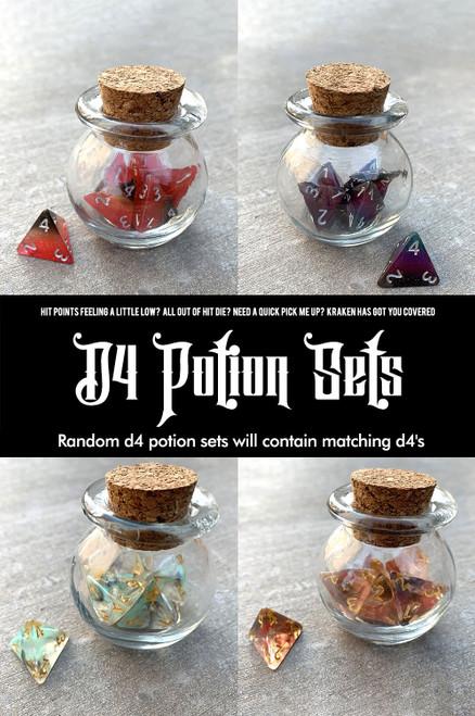 Random d4 Potion Set