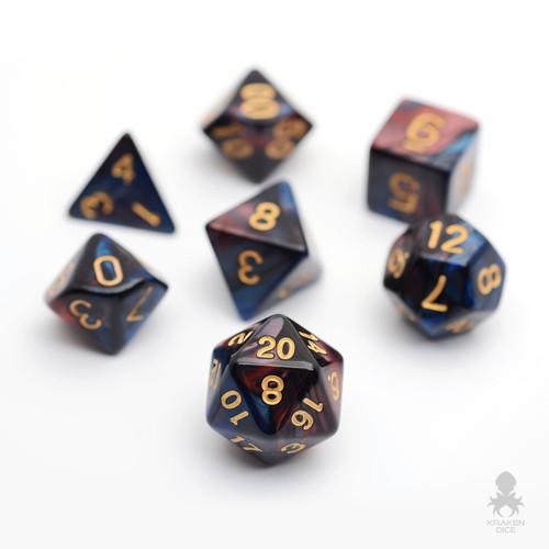 Regal Dragon Rpg Polyhedral Dice Set