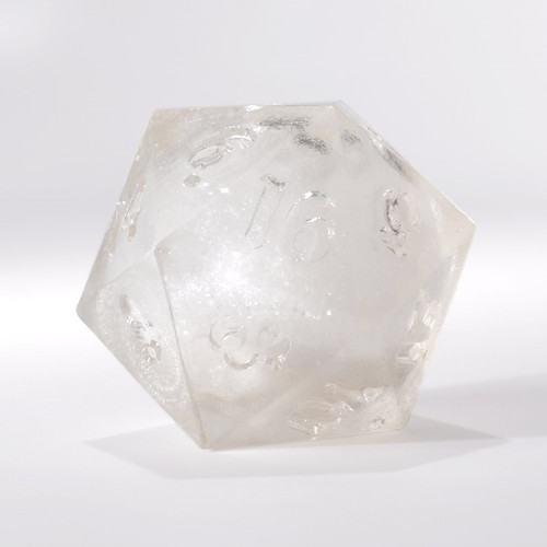 RAW White Liquid Core Single D20