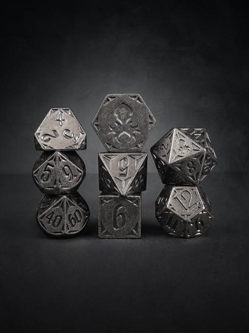 Rite of Steel 8pc TTRPG Dice Set