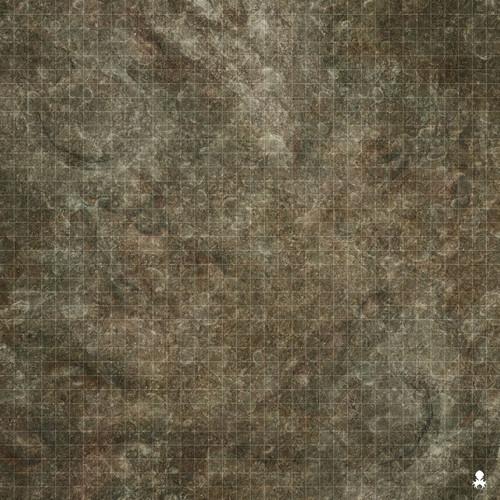 """Kraken Dice RPG Encounter Map Quick Mat- Wasteland Theme 36""""x36"""""""