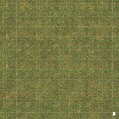 "Kraken Dice RPG Encounter Map Quick Mat- Grassy Terrain 36""x36"""