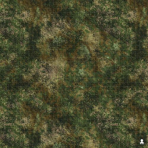 """Kraken Dice RPG Encounter Map Quick Mat- Dark Forest Battlefield 36""""x36"""""""