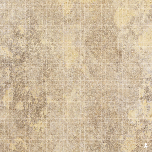"Kraken Dice RPG Encounter Map Quick Mat- Desert Sands 36""x36"""