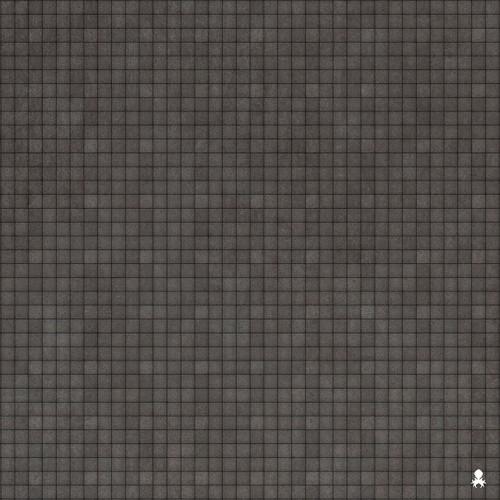 """Kraken Dice RPG Encounter Map Quick Mat- Concrete Floor 36""""x36"""""""