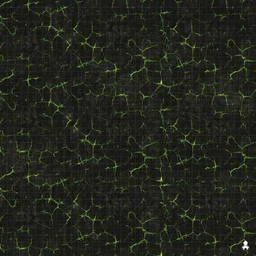 "Kraken Dice RPG Encounter Map Quick Mat- Necro Inferno 36""x36"""