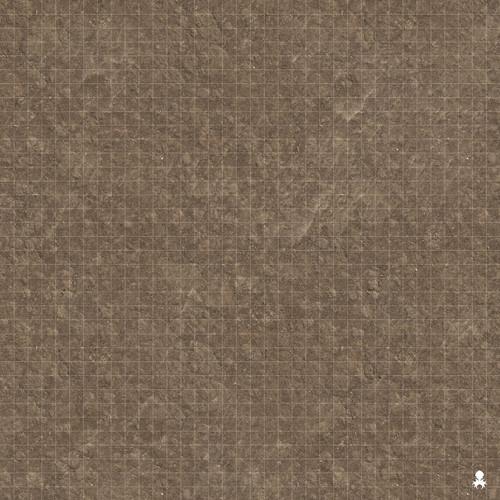 """Kraken Dice RPG Encounter Map Quick Mat- Dirt Field 36""""x36"""""""