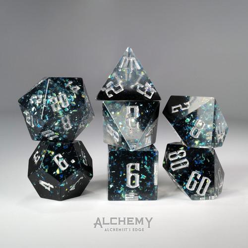 7pc Alchemist's Edge Dark Portal by Alchemy Dice