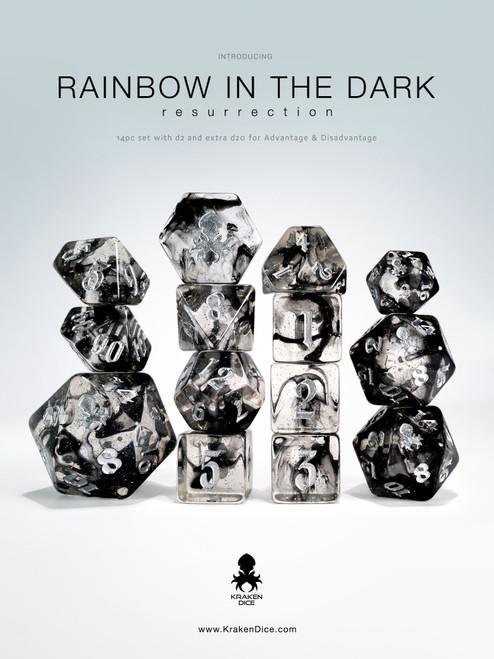 Rainbow in the Dark: Resurrection 14pc Dice Set