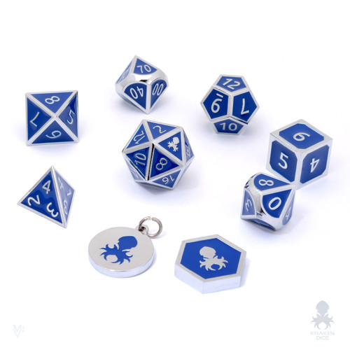 Starlit Hunter Metal Dice Set.