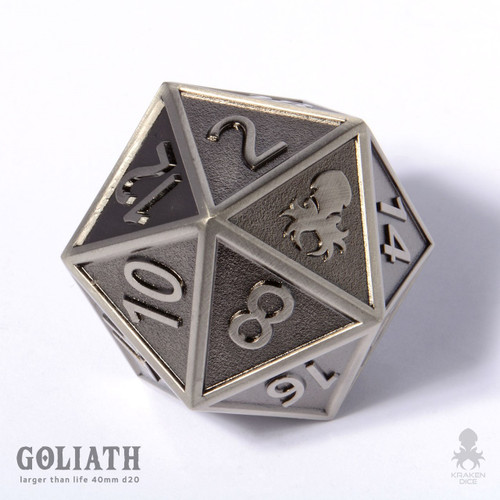 Steel Goliath single 40mm D20