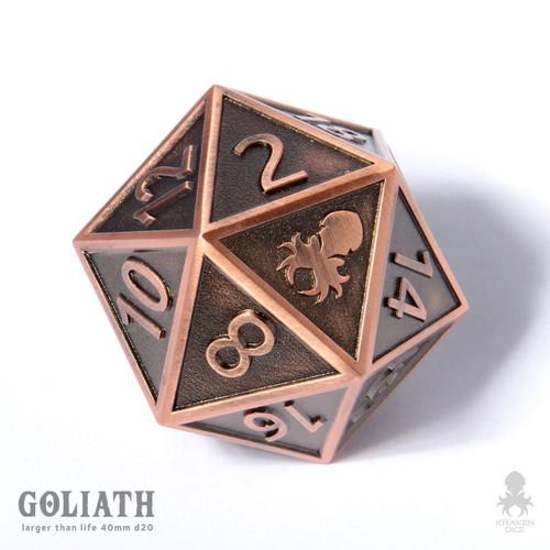 Copper Goliath 40mm single D20