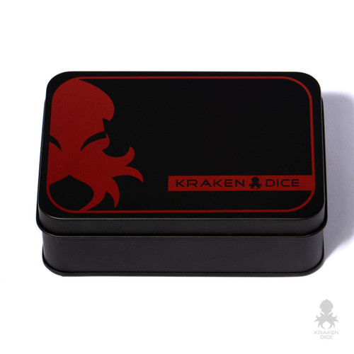 Dark Prince Blood Red RPG 9pc Dice Set