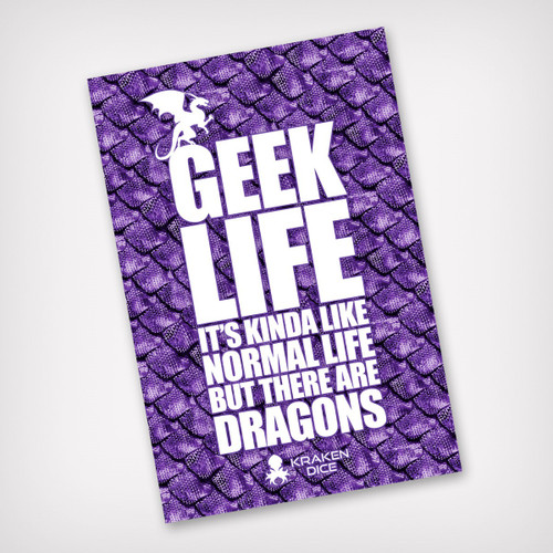 Geek Life Kraken Branded Sticker