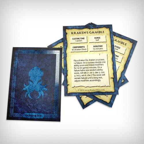 Kraken's Gamble Spell Card