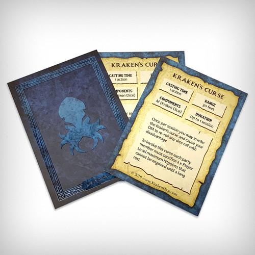 Kraken's Curse Spell Card
