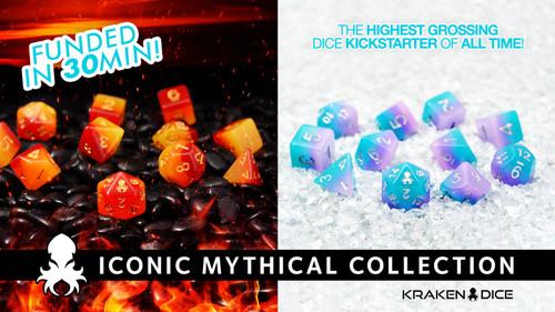 Mythical Iconic Kickstarter Shipping