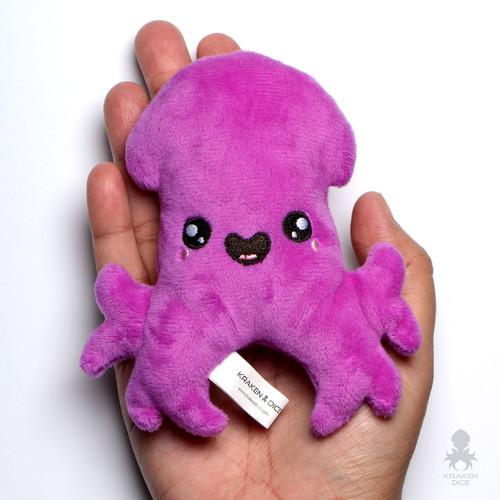 Purple Baby Kraken Mini Coin Purse