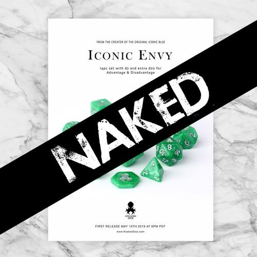 Naked Iconic Envy 14pc Dice Set