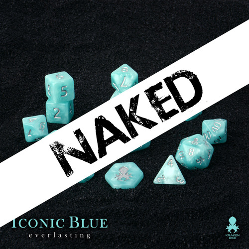 Naked Iconic Blue: Everlasting 14pc Dice Set